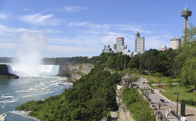 Cycle through Niagara Falls